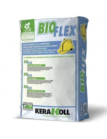 Kerakoll-Adesivo grigio minerale eco-compatibile BioFlex Kg 25