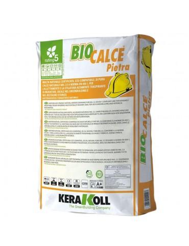 Kerakoll-BioCalce Pietra maltanaturale Kg 25