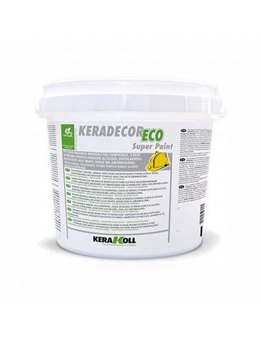 Keradecor-Pittura organica a base di resine Super Paint Kerakoll Kg 4