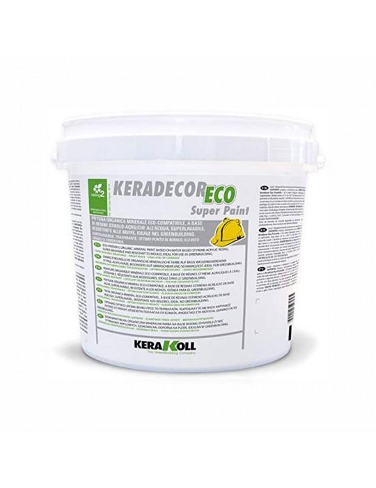 Keradecor-Pittura organica a base di resine Super Paint Kerakoll Kg 4 Kerakoll 27,00€