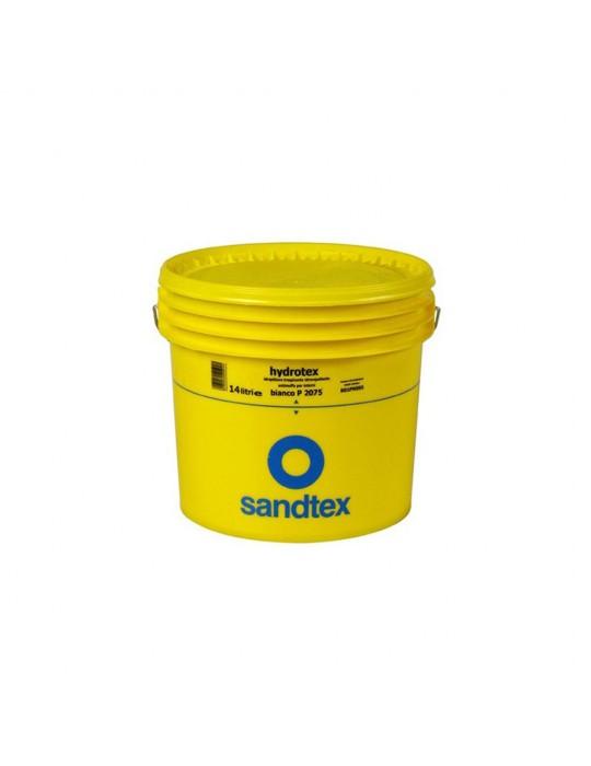 Sandtex-Hydrotex Idropittura traspirante opaca idrorepellente e resistente alla muffa per interni Bianco Lt 5 Sandtex 32,60€