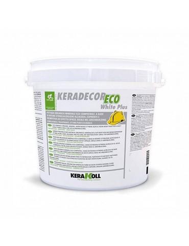 Kerakoll-Pittura organica minerale White Plus Lt 4-22890