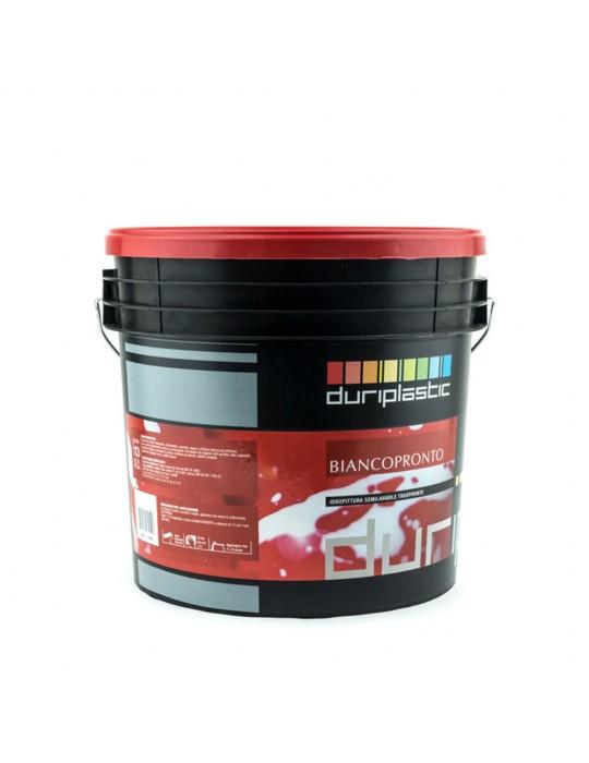Duriplastic-Biancopronto idropittura semilavabile traspirante Lt 4 Duriplastic 13,01€
