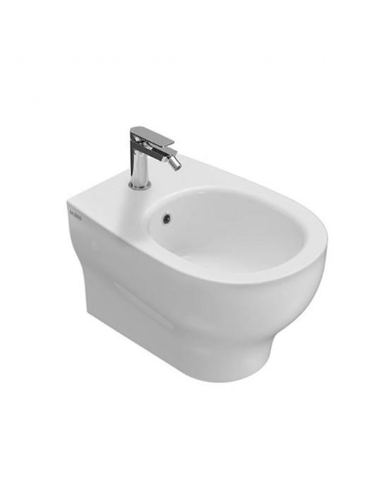 Bidet sospeso monoforo bianco-GRS10BI Globo-Grace Ceramica Globo 169,99€