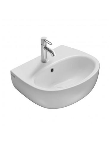Lavabo cm 50 monoforo Grace bianco-GR050.BI Globo