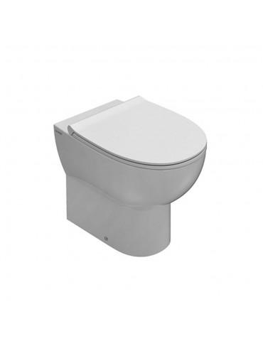 Vaso cm 54 due volumi bianco-MD001BI Globo-4ALL