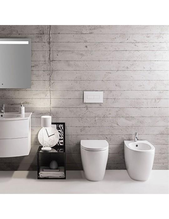 Bidet cm 54 due volumi bianco-MD009BI Globo-4ALL Ceramica Globo 183,00€
