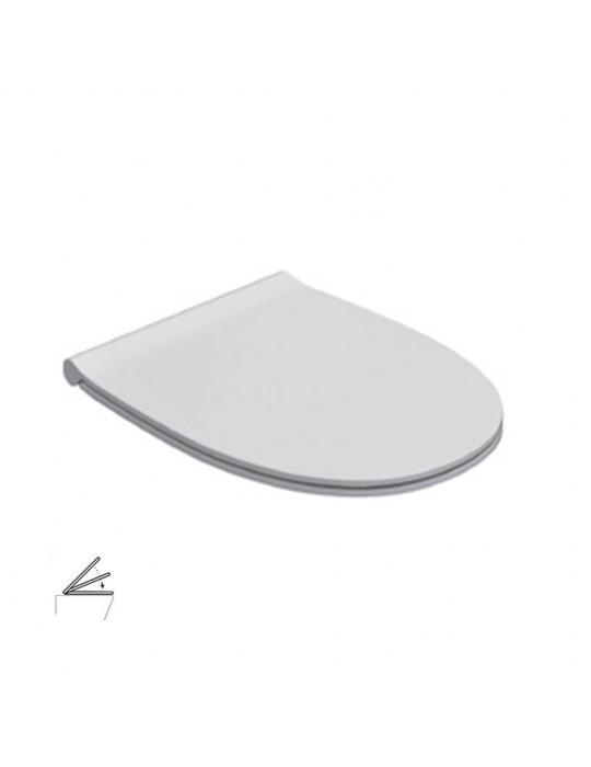 Coprivaso in duroplast chiusura rallentata bianco-MDR20BI Globo-4ALL  99,00€