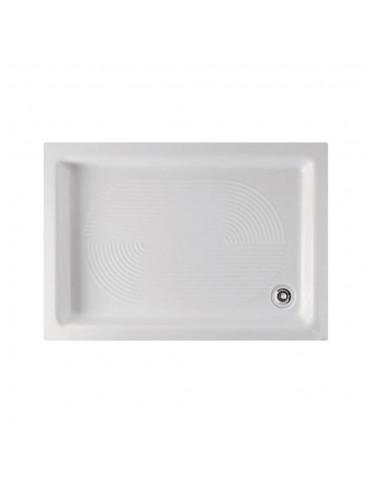 Piatto doccia 70x100 bianco rettangolare-Globo PD010BI
