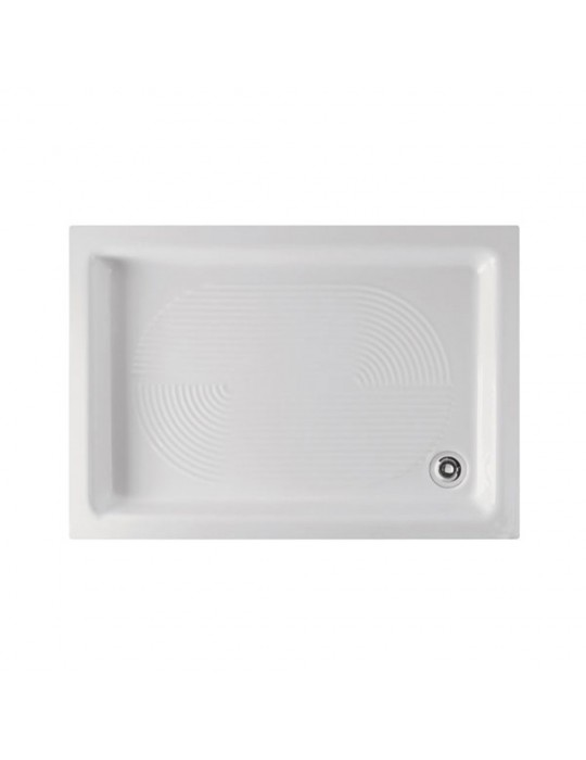 Piatto doccia 70x100 bianco rettangolare-Globo PD010BI Ceramica Globo 120,00€
