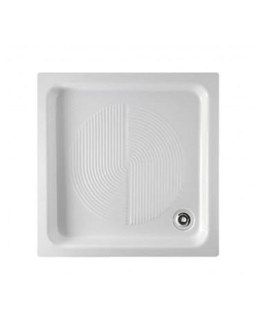 Piatto doccia 65x65 bianco logo-Globo PD065.BI