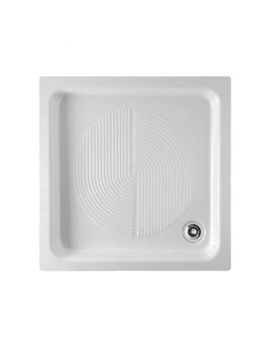 Piatto doccia 65x65 bianco logo-Globo PD065.BI Ceramica Globo 65,00€