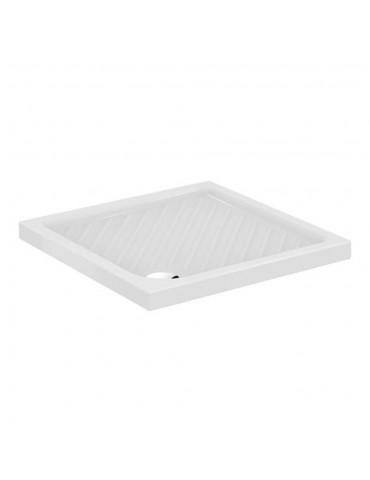 Piatto doccia 75x75 Gemma 2 bianco quadrato-J526101 IdealStandard