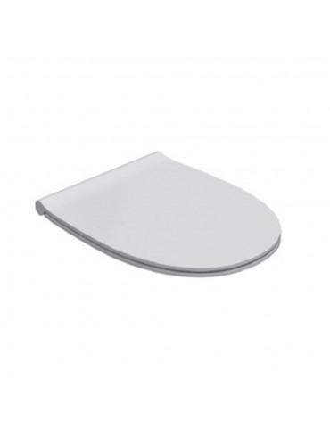 Coprivaso wc in duroplast bianco-MDR19BI Globo-4ALL