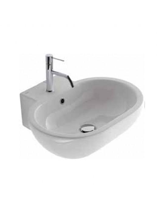 Lavabo sospeso cm 60 CONCEPT bianco-SC011.BI Globo Ceramica Globo 227,01€