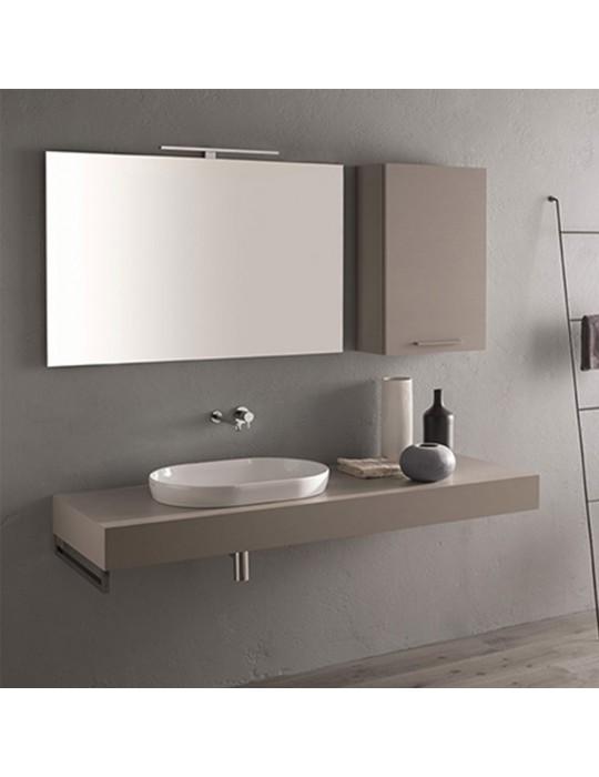 Lavabo incasso appoggio 60X41 T-EDGE bianco-B6061BI Globo Ceramica Globo 235,00€
