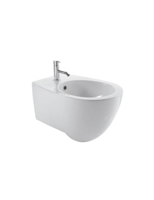 Bidet sospeso 55x38 bianco-SBS09.BI Globo BOWL+ Ceramica Globo 278,00€