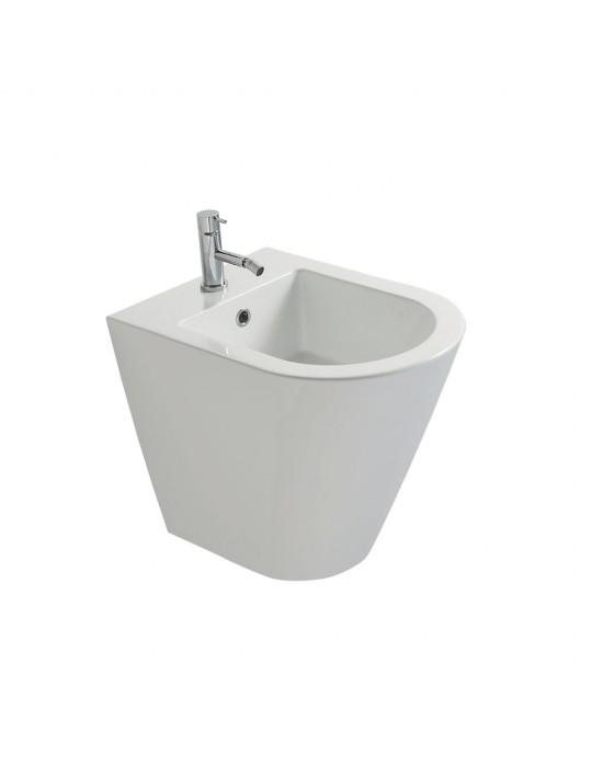 Bidet a terra 52X36 GHOST bianco-FO010.BI Globo FORTY3 Ceramica Globo 250,00€