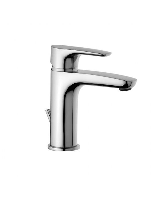 """Miscelatore lavabo monoforo con scarico automatico 1""""1/4 Paini Parallel 47CR211 Paini 58,00€"""