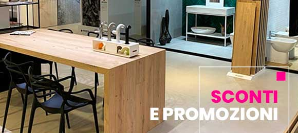 Outlet in sconto arredo bagno